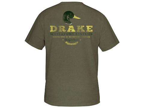 Drake Men's Greenhead Short Sleeve T-Shirt Cotton