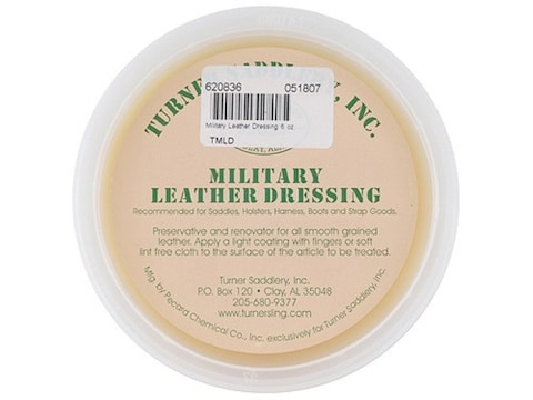 Turner Saddlery Military Leather Dressing 6 oz