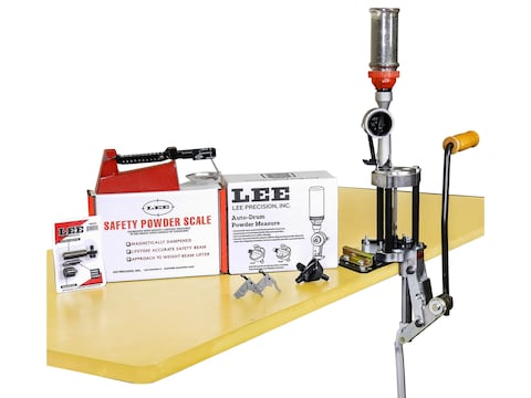 Lee 4 Hole Turret Press with Auto Index Value Kit