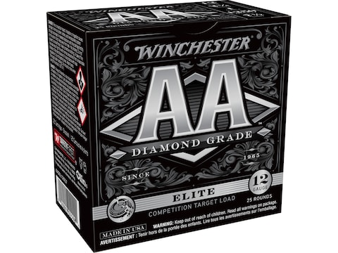 "Winchester AA Diamond Grade 1250 Ammunition 12 Gauge 2-3/4"" #7-1/2 Shot"