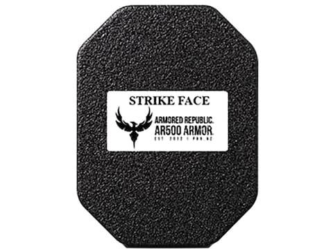 AR500 Body Armor Stand Alone Ballistic Plate Lightweight III+ Side Plate Steel