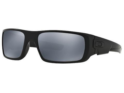 Oakley Crankshaft Polarized Sunglasses Matte Black Frame/Black Iridium Lens