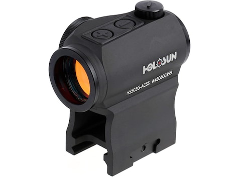 Holosun Paralow HS503G Red Dot Sight 1x ACSS-CQB Reticle Picatinny-Style Low & Lower 1/...