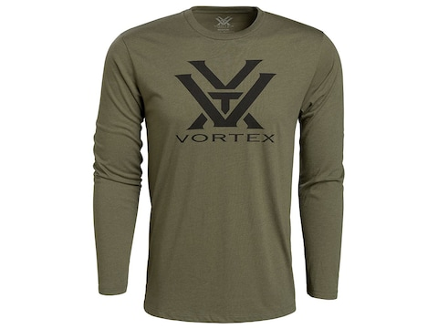 Vortex Optics Men's Solid VTX Logo Long Sleeve Shirt