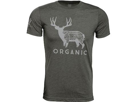 Vortex Optics Men's Organic Mule Deer Short Sleeve T-Shirt Cotton/Poly