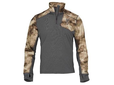 Browning Men's Hell's Canyon Speed MHS-FM Base Layer 1/4 Zip Long Sleeve Shirt Merino Wool