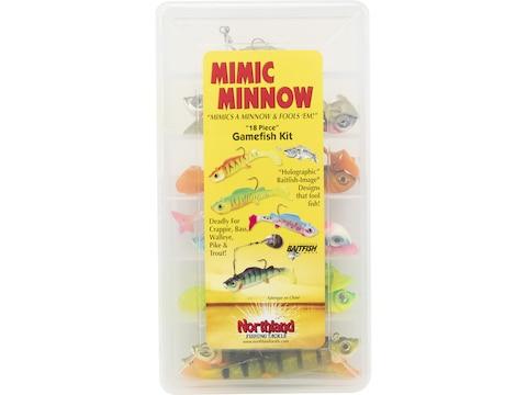 Northland Mimic Minnow Gamefish Kit Assorted