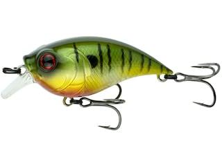 6th Sense Curve Finesse Squarebill Crankbait Neon Sunfish