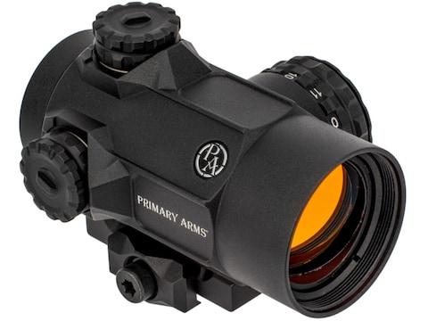 Primary Arms SLx MD-25 Micro Dot Rotary Knob Red Dot Sight with Picatinny-Style Mount M...