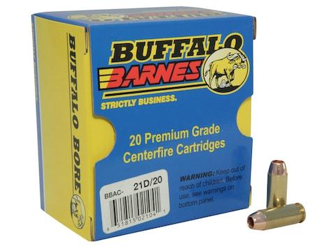 Buffalo Bore Ammunition 10mm Auto 155 Grain Barnes TAC-XP Hollow Point Lead-Free Box of 20