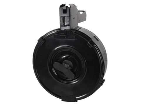 ATI Magazine SKS 7.62x39mm 75-Round Drum Steel Matte