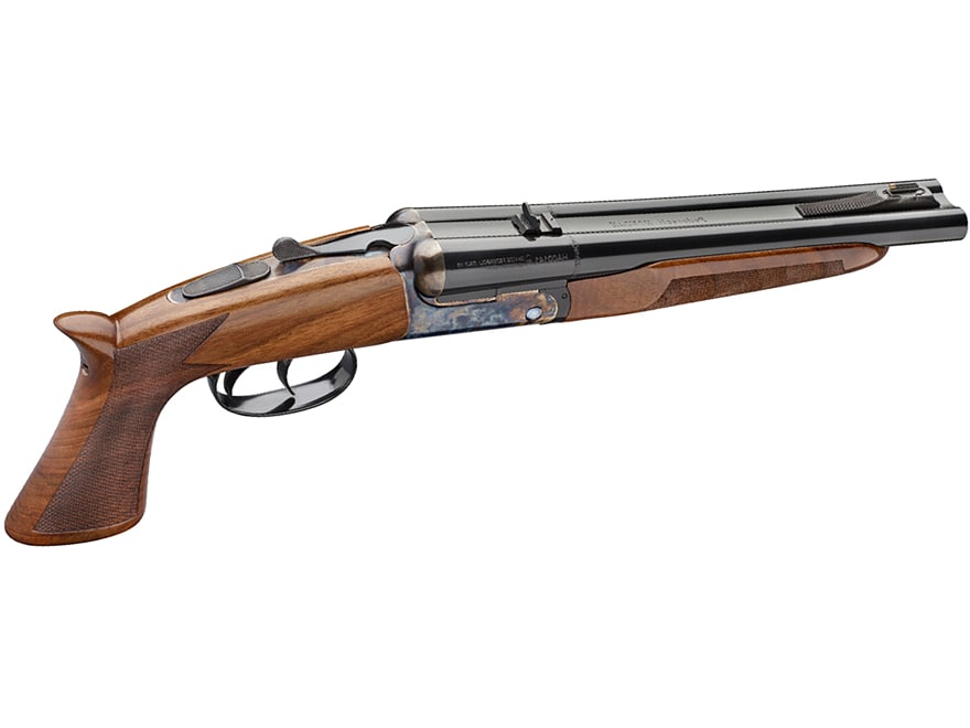 Pedersoli Howdah Break Open Pistol 45 Colt (Long Colt)/410 Bore 10 25