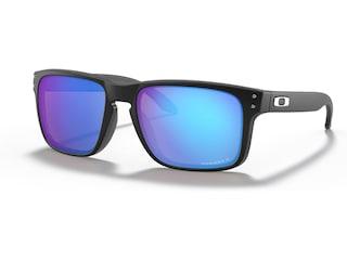 Oakley Holbrook Polarized Sunglasses Matte Black Frame/Prizm Sapphire Lens