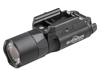 Surefire X300U Ultra Weapon Light with T-Slot Mounting Rail LED with 2 CR123A Batteries Aluminum Black