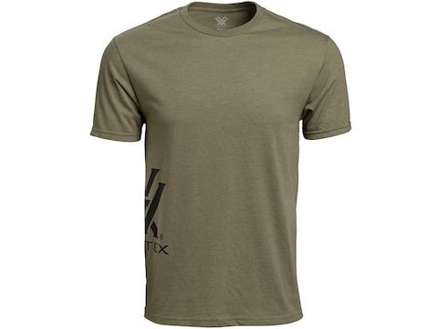 Vortex Optics Men's Side Logo Short Sleeve T-Shirt Cotton/Poly