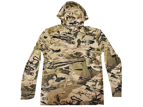Under Armour Men's UA Iso-Chill Brush Line Early Season Scent Control Hoodie Polyester