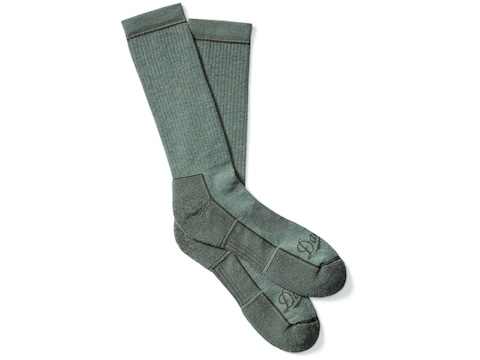 Danner Men's Lightweight Crew Hunting Socks Poly/Nylon/Merino Green