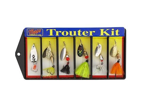 Mepps Trouter Kit Plain & Dressed 6PK