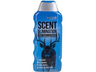 Code Blue D/Code Scent Elimination Shampoo and Body Wash Liquid 12 oz