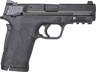 "Smith & Wesson M&P Shield M2.0 EZ Pistol 380 ACP 3.675"" Barrel 8-Round Black with Thumb Safety"