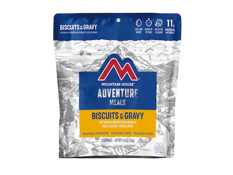 Mountain House Biscuits & Gravy Freeze Dried Food 2 Serving