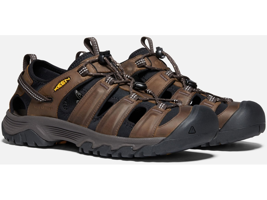 Bison Mulch Keen Targhee III Mens Hiking Sandals