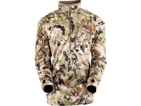 Sitka Gear Men's Traverse Zip-T Base Layer Long Sleeve Shirt Polyester