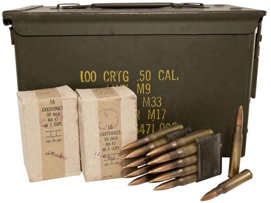 Military Surplus Ammo 30-06 Springfield 150 Grain Full Metal Jacket