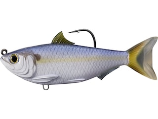 "LIVETARGET Threadfin Shad 3.5"" Swimbait Violet/Blue"