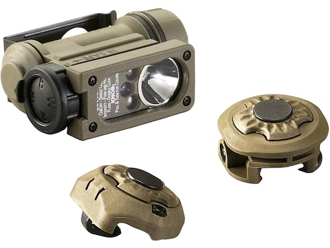 Streamlight Sidewinder Compact II Military Model Flashlight LED with 1 CR123A Battery w...