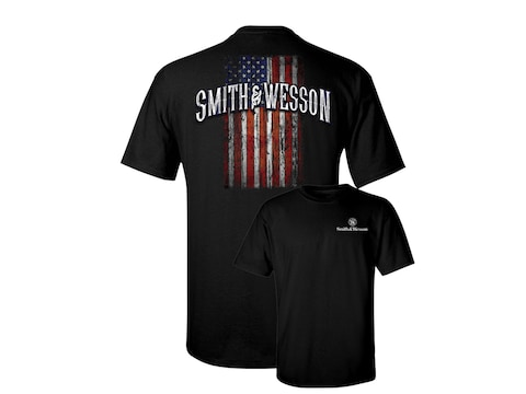 Smith & Wesson Men's American Made Short Sleeve T-Shirt Cotton