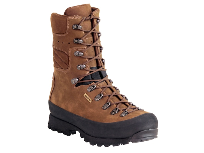 """Kenetrek Mountain Extremes 10"""" Insulated Hunting Boots Leather and Nylon Men's"""