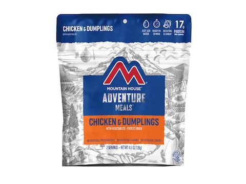 Mountain House Chicken & Dumplings Freeze Dried Food 2 Serving