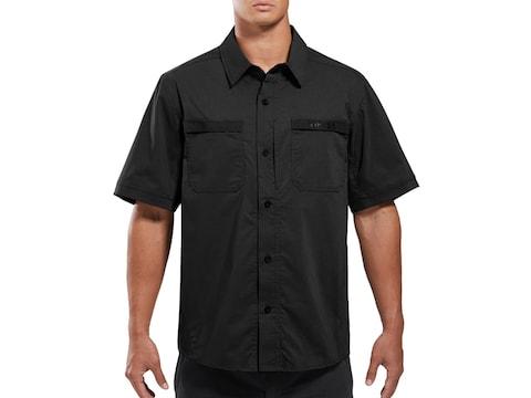 Viktos Men's Sofari Ops Button-Up Short Sleeve Shirt Cotton/Poly/Spandex