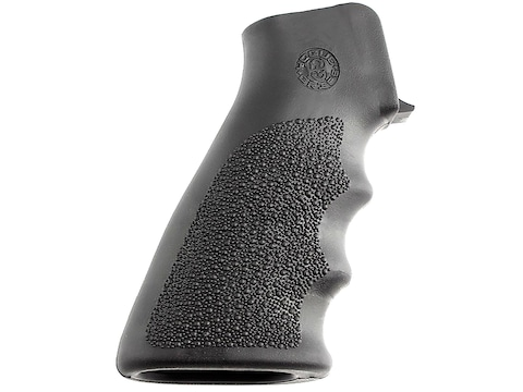 Hogue OverMolded Pistol Grip AR-15 with Finger Grooves Rubber