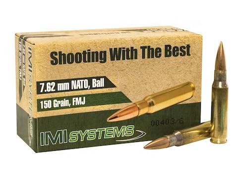 IMI Ammunition 7.62x51mm NATO 150 Grain Full Metal Jacket