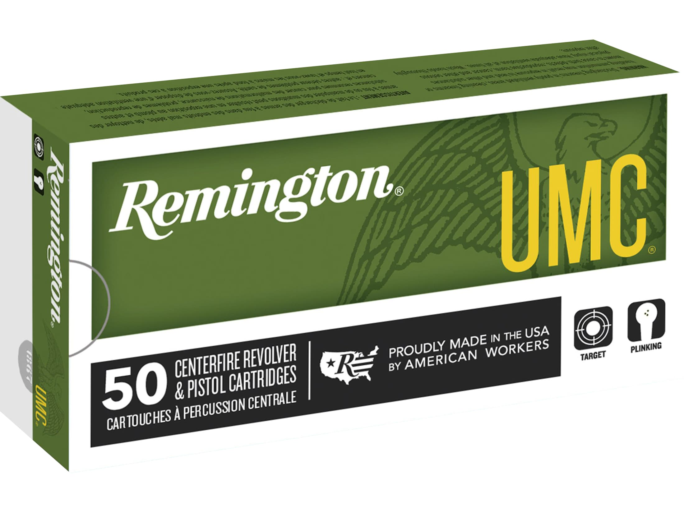 Winchester USA Ammo 9mm Luger 115 Grain Full Metal Jacket