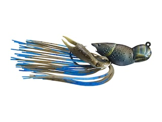 LIVETARGET Crawfish Jig Mud/Blue 3/8 oz