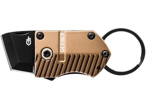 "Gerber Key Note Folding Knife .9"" 5Cr Stainless Steel Blade Aluminum Handle"