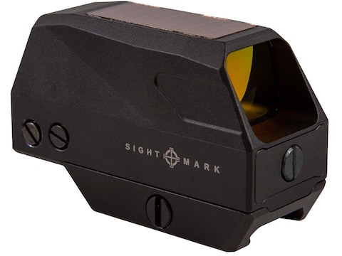 Sightmark Volta Solar Red Dot Sight 1x 28mm 2 MOA Dot with Picatinny-Style Mount Matte
