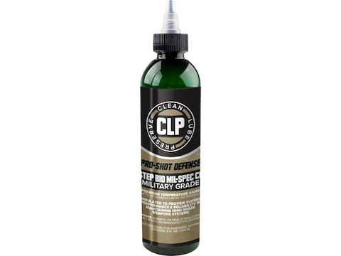Pro-Shot 1 Step Mil-Spec CLP Bore Cleaning Solvent, Lubricant, Rust Preventative