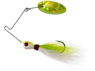 Panther Martin Bearded Banshee Spinnerbait Chartreuse White Holographic 1/4 oz