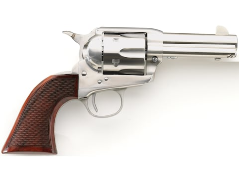 """Taylor's & Co Runnin' Iron Stainless Single Action Revolver 45 Colt (Long Colt) 3.5"""" St..."""