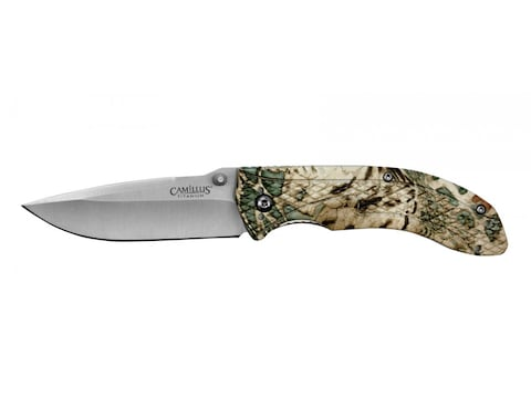 """Camillus Guise Folding Pocket Knife 3"""" Drop Point 420 Stainless Steel Blade ABS Prym 1 ..."""
