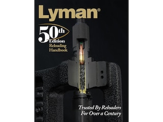 Lyman Reloading Handbook: 50th Edition Reloading Manual Softcover