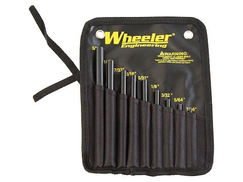 Wheeler Roll Pin Starter Punch Set 9-Piece Steel