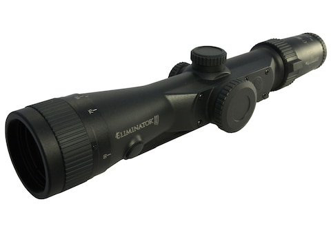 Burris Eliminator III Laser Rangefinding Rifle Scope 3-12x-44mm X96 Reticle Matte