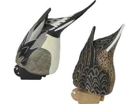 GHG Pro-Grade Pintail Butt-Up Feeder Duck Decoy Pack of 2
