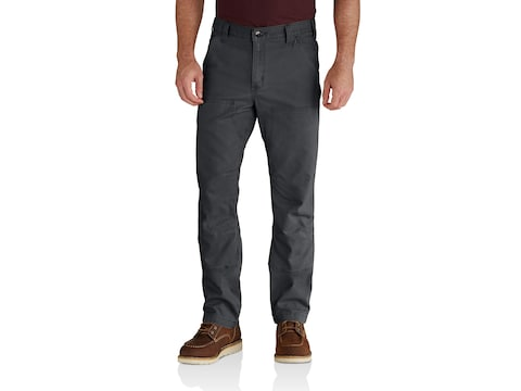 Carhartt Men's Rugged Flex Rigby Double Front Relaxed Fit Pants Cotton/Spandex