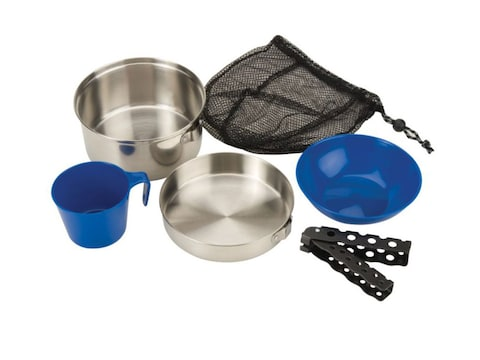 Coleman 1-Person Stainless Steel Mess Kit